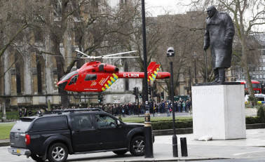 ISIS claims British parliament attack; Cops identify killer as Khalid Masood, arrest 8