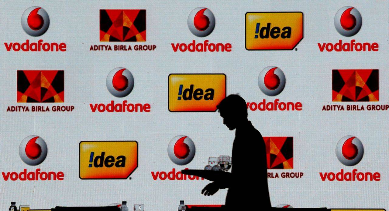 Vodafone Idea | Market capitalisation in December 2017: Rs 39,033.14 crore | Current market capitalisation: Rs 20,382.54 crore | Current stock price: Rs 42.10 | YTD return: -61.09% (Image: Reuters)