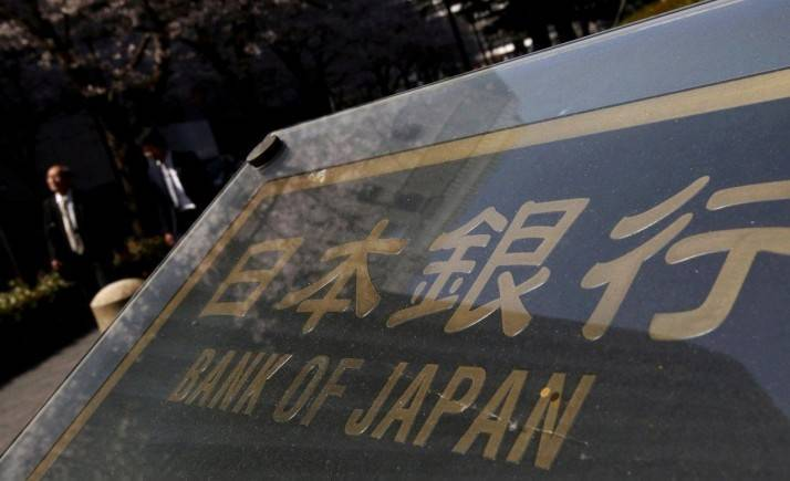 The Bank of Japan holds monetary policy steady