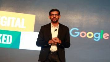 Google has 'no plans' to launch Chinese search engine: Sundar Pichai