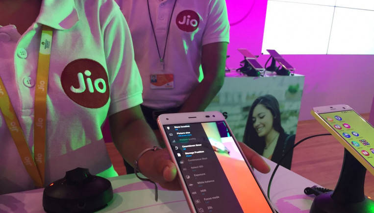 Jio LYF phone (Image: Reuters)
