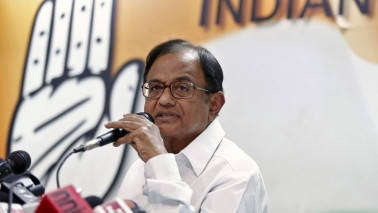 P Chidambaram attacks government over 'unjust' growth in Gujarat