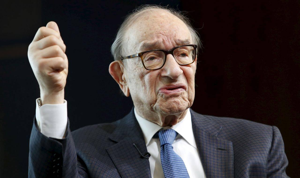 Answer: Alan Greenspan (Image: Reuters)