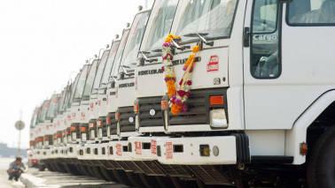 120 trucks entering Delhi fined for overloading