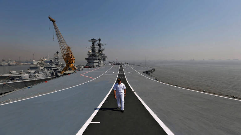 Veterans slam govt move to scrap decommissioned aircraft carrier Viraat