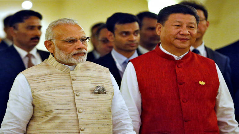 The two leaders are holding delegation level talks. (File photo: Reuters)