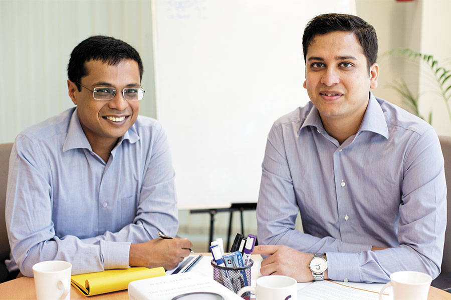 6| Sachin Bansal and Binny Bansal- Co-founders of India's largest e-commerce platform Flipkart. Sachin and Binny are both holders of a degree in computer engineering from IIT-Delhi. (Image: moneycontrol)