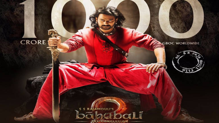 Team 'Baahubali' has contributed over 4 percent of the total earnings of the Celebrity 100 list.