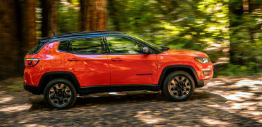 Jeep Compass Trailhawk spotted testing; gets Rock mode to match its more rugged capabilities