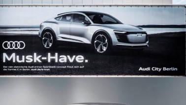 Audi marks forays into electric car segment by trolling Elon Musk's Tesla