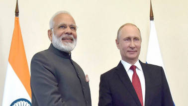 PM Modi arrives in Sochi to hold informal summit with Vladimir Putin