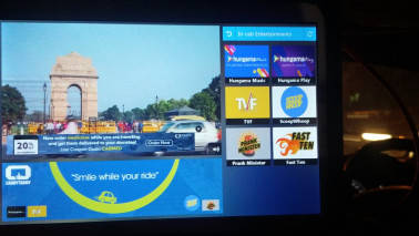 Pune startup to provide in-cab entertainment for Uber in India