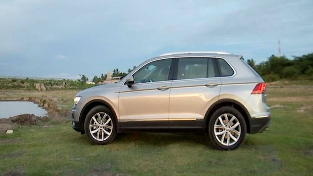 Volkswagen launched the Tiguan SUV in the premium end of the market against the Toyota Fortuner