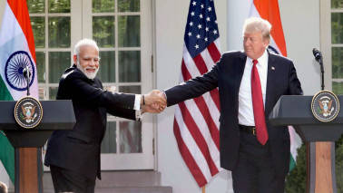 PM Modi thanks Donald Trump for his wishes