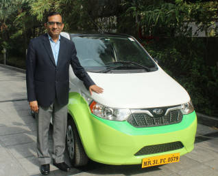 EXCLUSIVE -- M&M's Pawan Goenka bets on Ola & Uber to drive electric vehicle growth, here's why