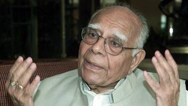 Ram Jethmalani moves SC against Karnataka governor's decision inviting BJP to form govt