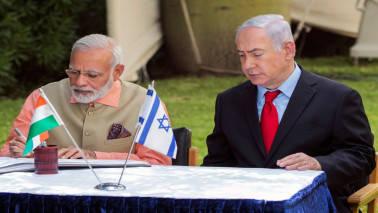 Netanyahu arrives on 'historic' India visit; Modi receives him at airport
