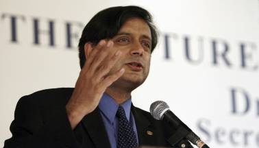 Tharoor tweets about attack on his office from BJP youth wing workers protesting his 'Hindu Pakistan' remark