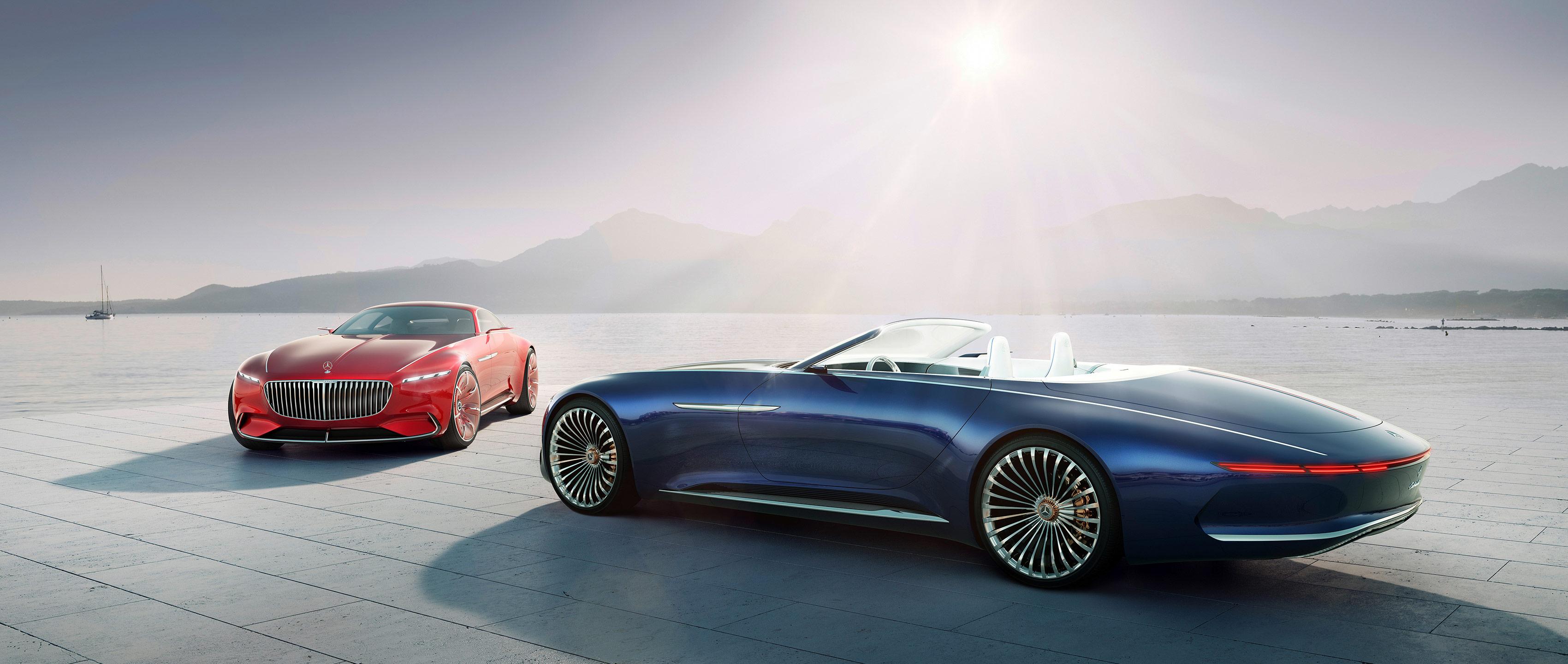 Fancy A 20 Foot Convertible Mercedes Unveils Luxury Concept Car