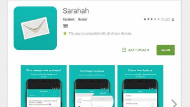 Popular Sarahah app taken off Google & Apple stores following a petition