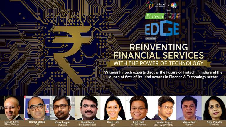 RUBIQUE and CNBC-TV18's 'FINTECH EDGE' – A PLATFORM FOR FINTECH COLLABORATIONS