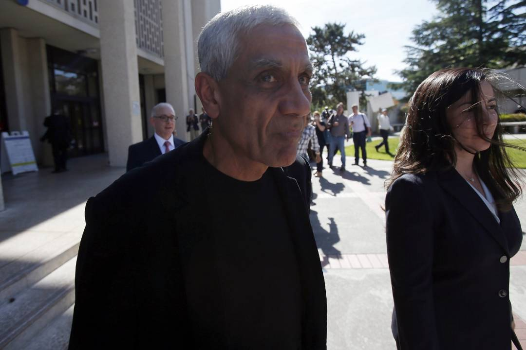 Vinod Khosla | Net Worth: INR 18,111.6 crore| How much are they donating: INR 9,055.8 crore. (Image Source: Reuters)