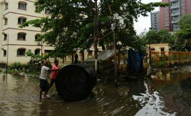 Mumbai downpour as it happened: City inching back to normalcy