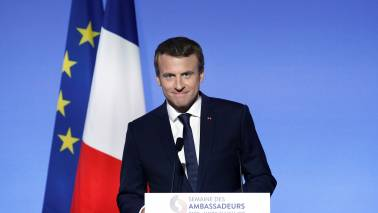 France's Emmanuel Macron says climate 'red line' at G20