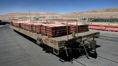 Copper futures fall 0.17% on weak global cues