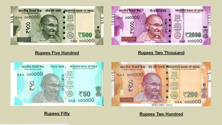 10 Months 4 New Currency Notes Here S What Makes Them