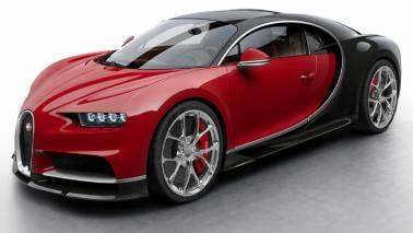 Bugatti's USD 3 million sports car Chiron sets a new speed record