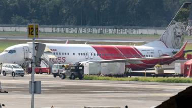 Air India Express plane from Abu Dhabi veers of taxiway in Kochi, all safe