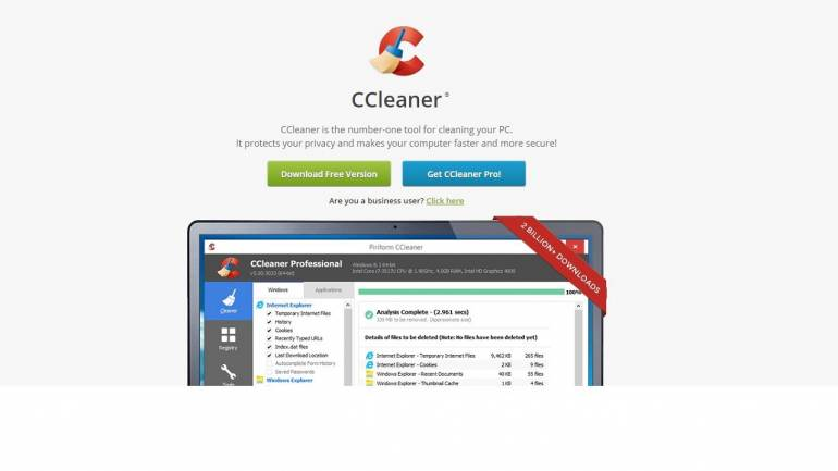 Do you have CCleaner software on your device? Update as soon as possible to avoid getting hacked