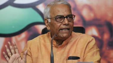 GST implementation textbook example of how not to implement it: Yashwant Sinha