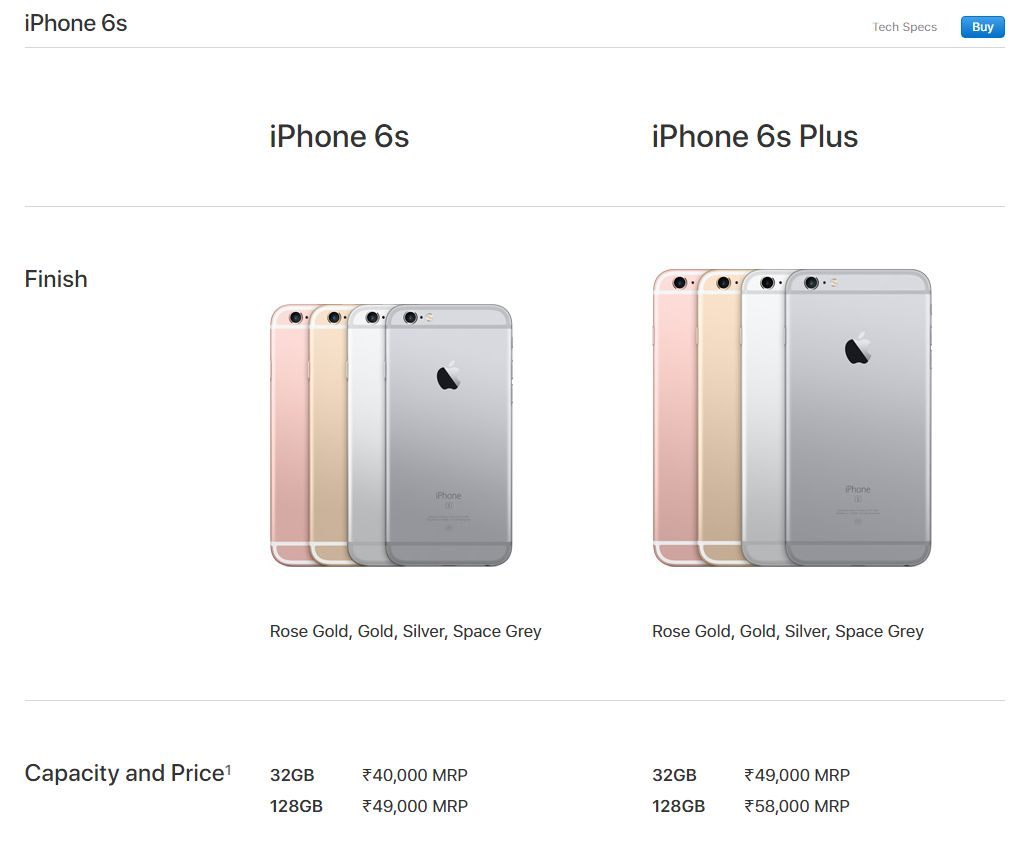 Apple Slashes Price Of Iphone 7 Plus 6s In India 32 Gb Rose Gold The Us Company Has Also Slashed Its Entry Level Phone Se To Usd 349 From Earlier 399