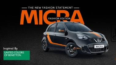 Nissan launches new Micra Fashion Edition priced at Rs 6.09 Lakh