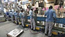 Industrial production shrinks 1.1% in August after 26 months
