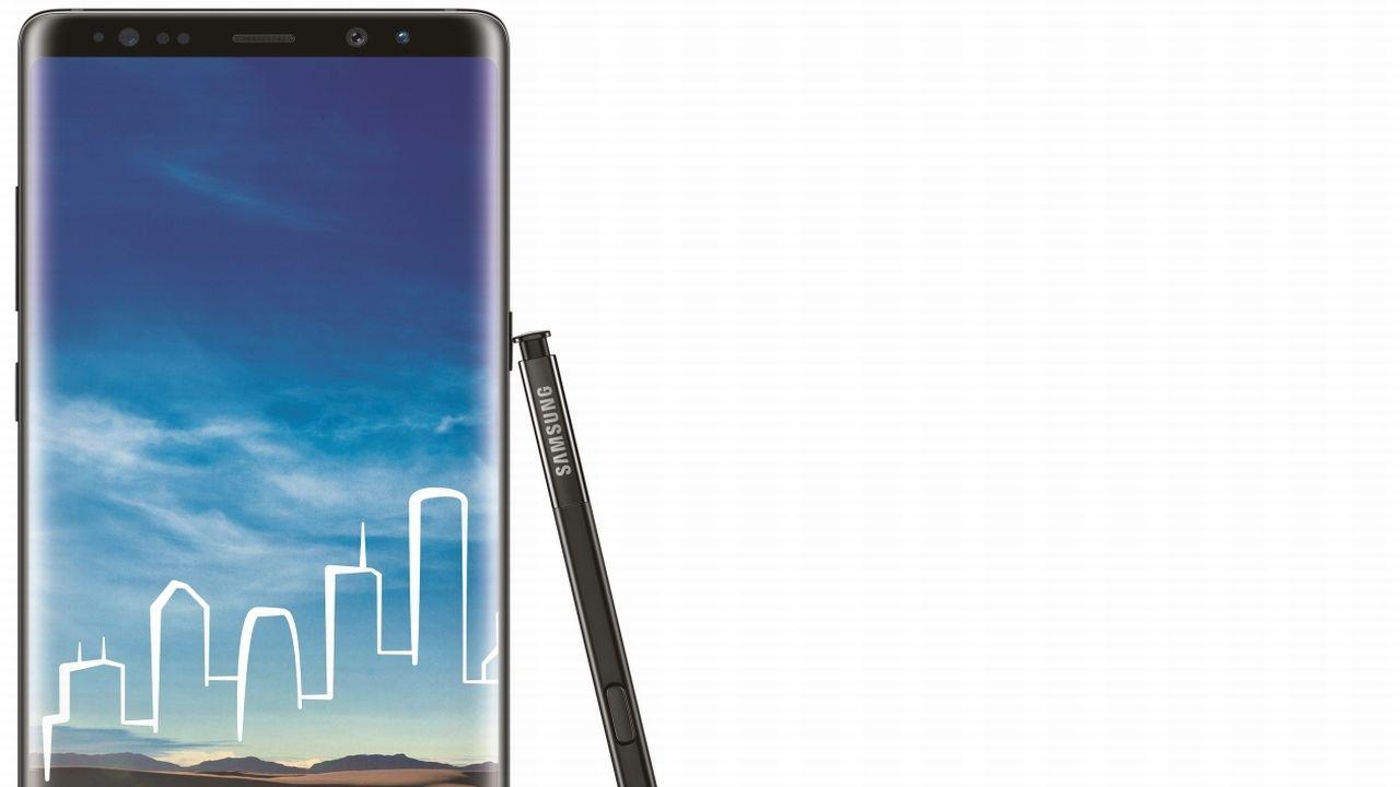 1. Samsung Galaxy Note 8   SAR value: 0.17 (Image: Samsung)
