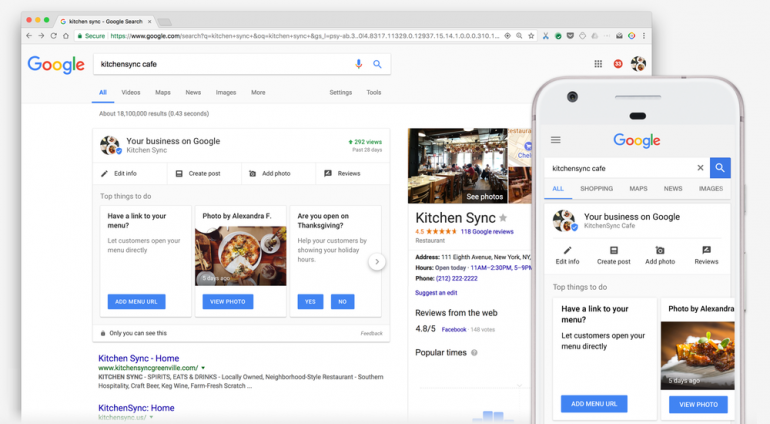 Google makes listing your businesses easier