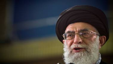 """Iran supreme leader says """"obvious mistake"""" to negotiate with US - website"""