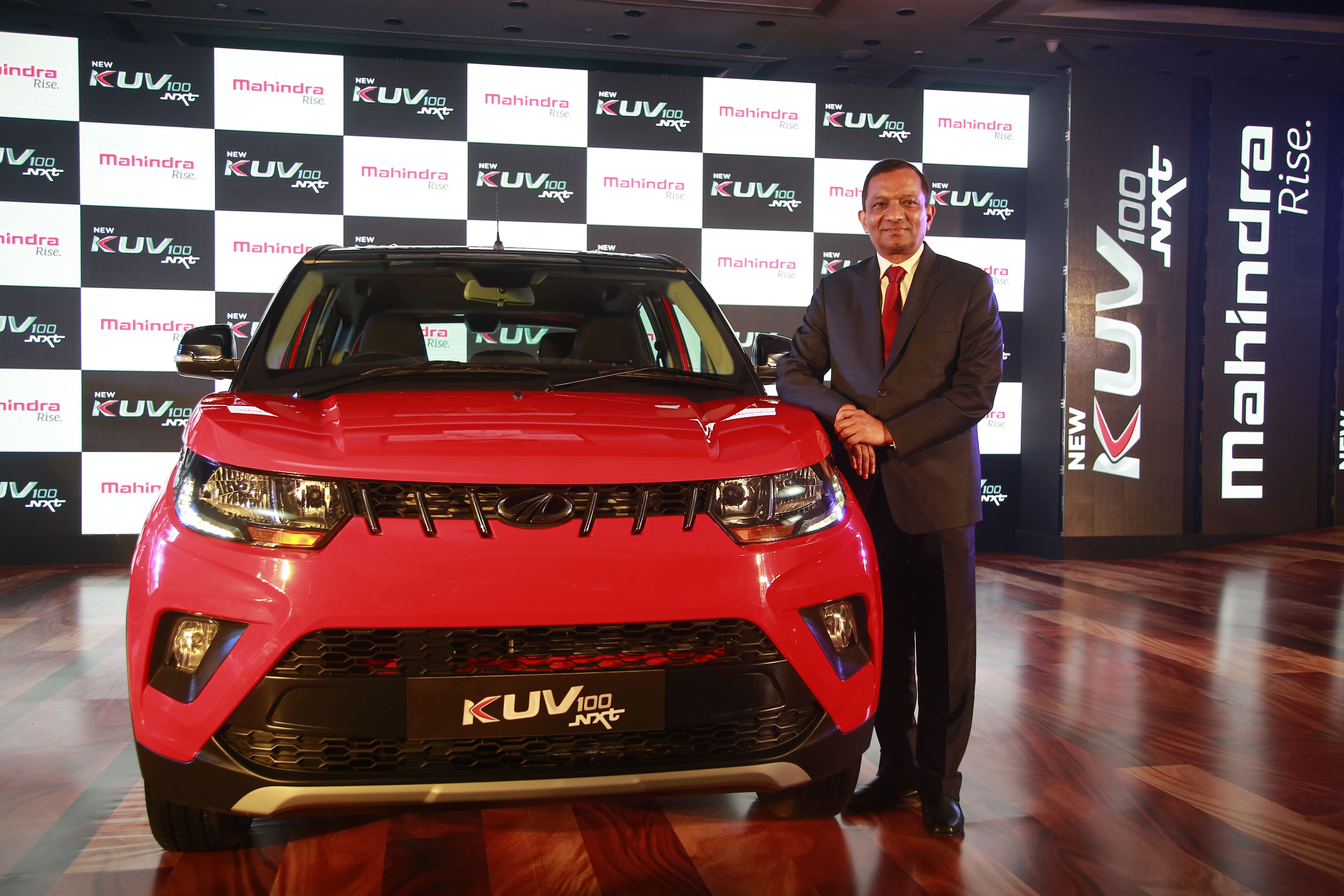 Mahindra launched the KUV NXT in the mini SUV segment. The KUV went for a facelift faster than any of Mahindra's other models