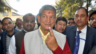Modi's 'double engine' growth promise a non-starter: Harish Rawat