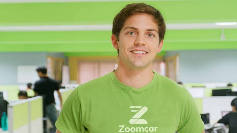 Greg Moran, co-founder and CEO of Zoomcar