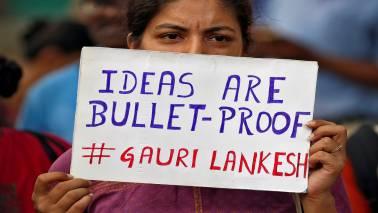 Muthalik's 'dog remark' on Gauri Lankesh murder case triggers row