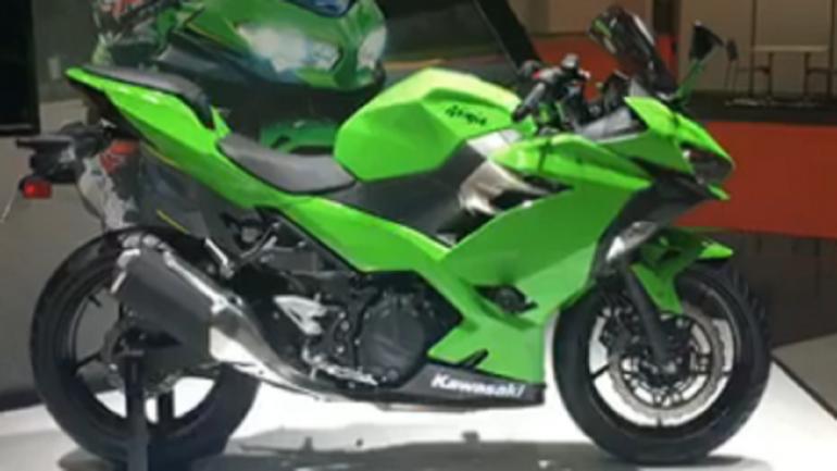 Kawasaki Unveils Ninja 400 At The Tokyo Motor Show Moneycontrolcom