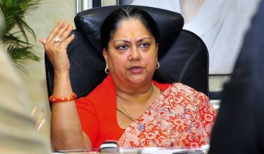 No alternative to BJP in country: Rajasthan CM Raje