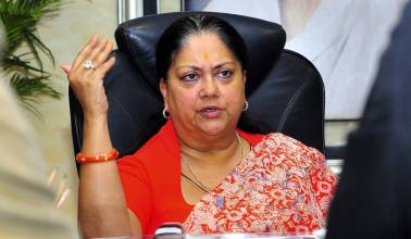 I promised 15 lakh jobs, and I have done it: Rajasthan CM Vasundhara Raje