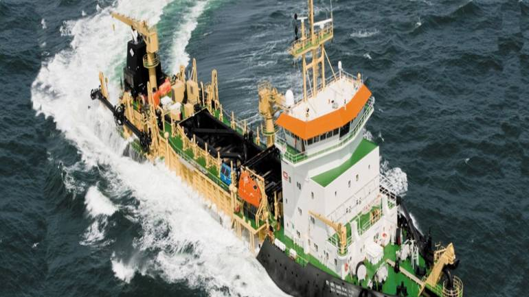 Dredging Corporation shares gain nearly 4% on order from Cochin Port