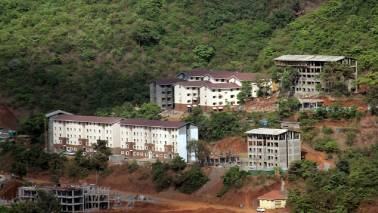 HCC sinks 16% despite clarification on report of Lavasa filing for bankruptcy