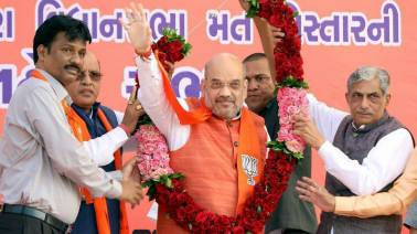 UP civic poll results nothing compared to what will happen in Gujarat : Amit Shah